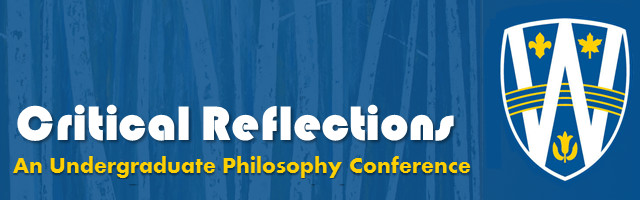 Critical Reflections Undergraduate Conference 2015