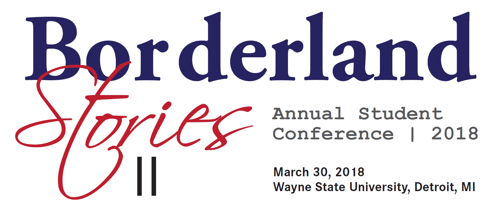 Borderland Stories Conference 2018