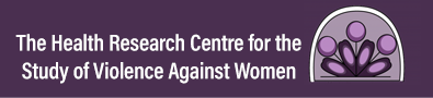 The Healthy Research Centre for the Study of Violence Against Women logo