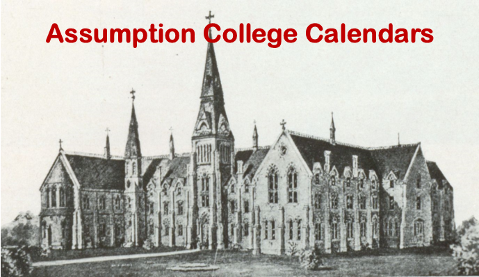 The Assumption College Calendar