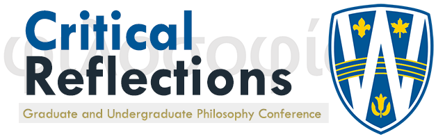 Critical Reflections Graduate and Undergraduate Conference 2018