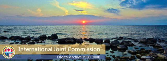 International Joint Commission (IJC) Digital Archive