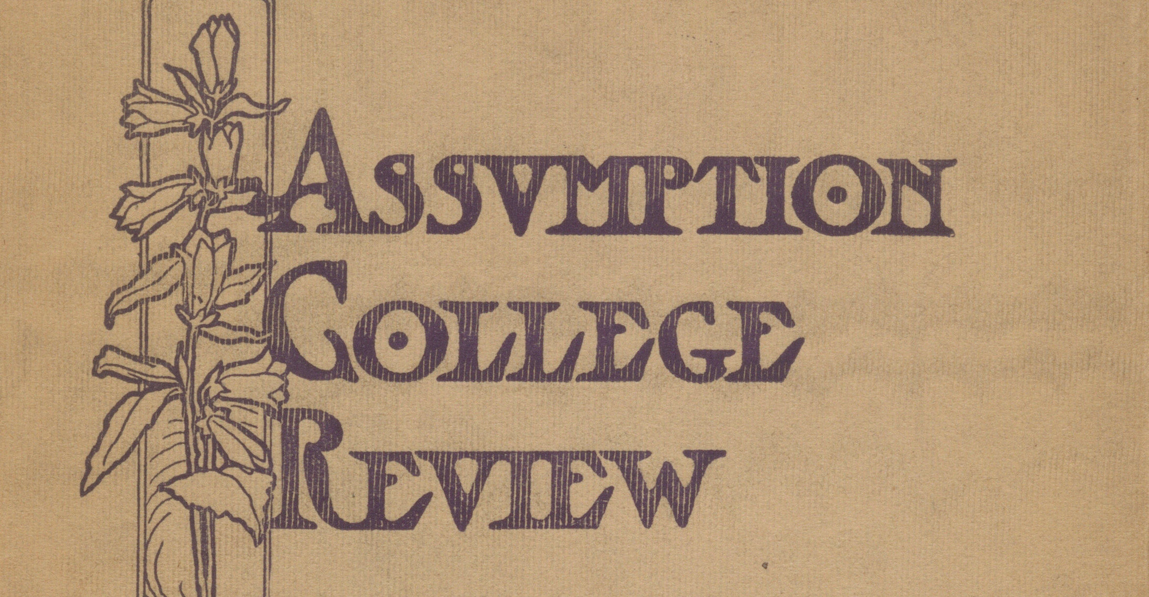 The Assumption College Review