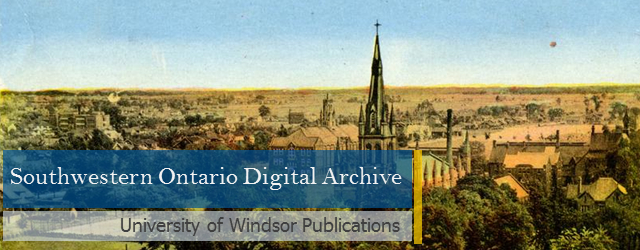 SWODA: University of Windsor Publications
