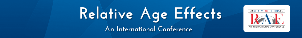 Relative Age Effects: An International Conference