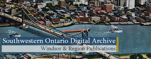 SWODA: Windsor & Region Publications