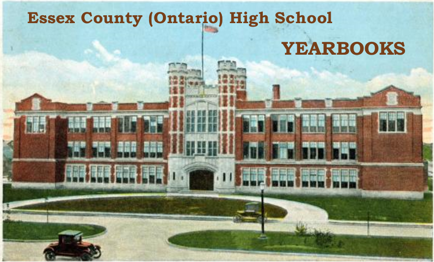 Essex County (Ontario) High School Yearbooks