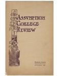 Assumption College Review: Vol. 2: no. 11 (1909: Nov.) by Assumption College