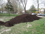Organic Compost Donated by Essex-Windsor Solid Waste Authority