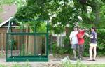 Greenhouse Setup for B. Sapkota PhD Data Collection