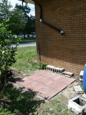 Installing Rainwater Cistern