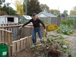 Filling Composters