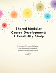 Shared Modular Course Development:  A Feasibility Study