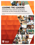 Leading the Leaders:  Embedded Educational Leadership Initiatives at the University of Windsor