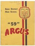 Essex District High School Yearbook 1958-1959 by Essex District High School (Essex, Ontario)