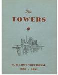Lowe, W. D. High School Yearbook 1950-1951