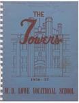 Lowe, W. D. High School Yearbook 1956-1957