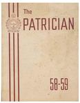 Patterson, J. C. Collegiate Institute Yearbook 1958-1959