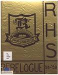 Riverside Secondary School Yearbook 1958-1959