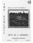 Kennedy, W. C. Collegiate Institute Yearbook 1962-1963