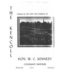 Kennedy, W. C. Collegiate Institute Yearbook 1963-1964
