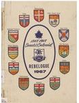 Riverside Secondary School Yearbook 1966-1967