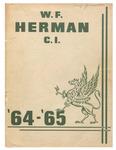 Herman, W. F. Academy Secondary School Yearbook 1964-1965