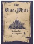 Walkerville Collegiate Institute Yearbook 1931-1932