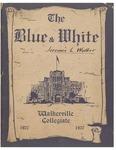 Walkerville Collegiate Institute Yearbook 1926-1927