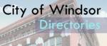 Windsor Directories by University of Windsor