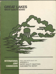 Great Lakes Water Quality Annual report 1974 by International Joint Commission
