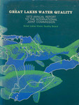 Great Lakes Water Quality Annual report 1973 by International Joint Commission
