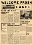 The Lance: School Year 1963-1964 by University of Windsor