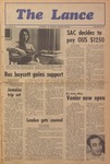 The Lance: School Year 1969-1970 (Jan.-Mar.) by University of Windsor