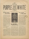 Purple and White: 1940 - 1941