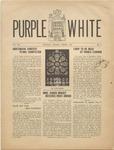 Purple and White: 1940 - 1941