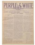Purple and White: 1924 - 1925