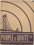 Purple and White Yeakbook: 1944