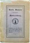 Early History Of The Town Of Amherstburg Second Edition