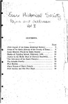 Essex Historical Society Papers And Addresses Volume 1