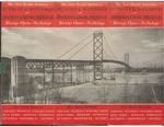 New Route Between Detroit And Windsor Via Ambassador Bridge 1930 by Ambassador Bridge