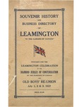 Souvenir History And Business Directory of Leamington by City of Leamington