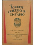 Tourist Guidebook of Ontario 1928