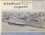 Windsor Ontario Report Progress Review 1955-1959