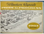 Windsor Ontario Reports 1963 Pride in Progress