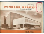 Windsor Ontario Reports 1964-1965 Pride in Progress by City of Windsor