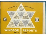 Windsor Ontario Reports 1966-1967 Pride in Progress