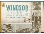 Windsor Ontario Reports 1967-1968 Pride in Progress by City of Windsor