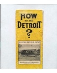 How To See Detroit?