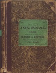 Bartlet, Alexander Diary 1868 by Alexander Bartlet
